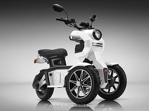 Electrische Scooter Step E Scooter iTank